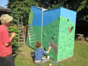 speleobox schilderen